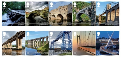 Bridges - Stamps