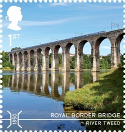 Bridges Royal Border Bridge Stamp